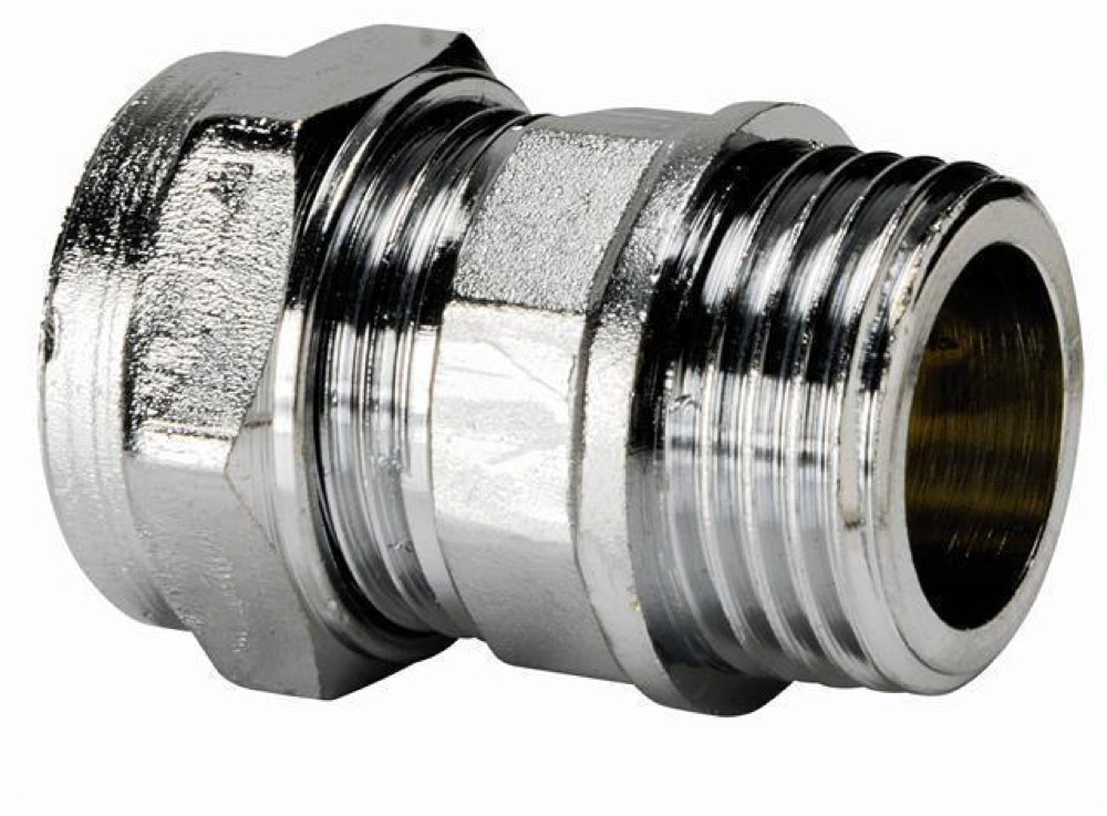 Chrome Male Coupling