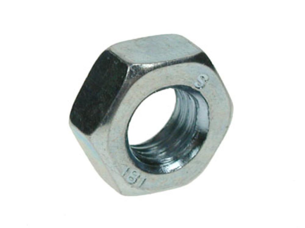 BZP M20 Hex Nut 20mm