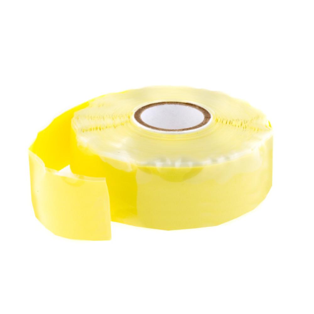 Tracpipe Silicon Tape Yellow 11M X 25mm
