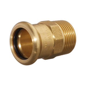 Mpress Copper Male Adaptor