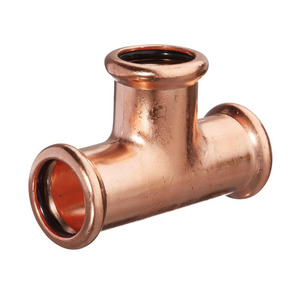 42mm MP24 Mpress Copper Equal Tee