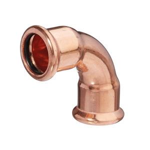 22mm MP12 Mpress Copper Bend 90DG F/F