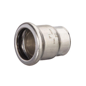 Mpress Stainless Steel End Cap