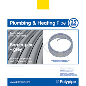 Polyplumb PB322B 22mm X 3M Barrier Pipe