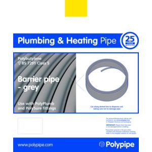 Polyplumb PB10015B 15mm X 100M Barrier Coil