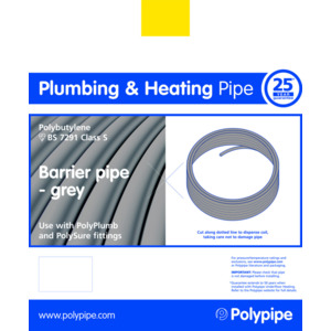 Polyplumb PB2522B 22mm X 25M Barrier Coil