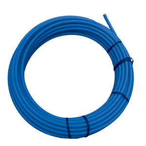50M Coil Blue Poly Tube 50mm Diameter