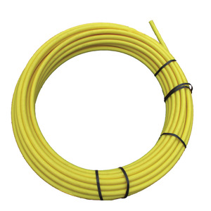50M Coil Yellow Poly Tube 25mm Diameter
