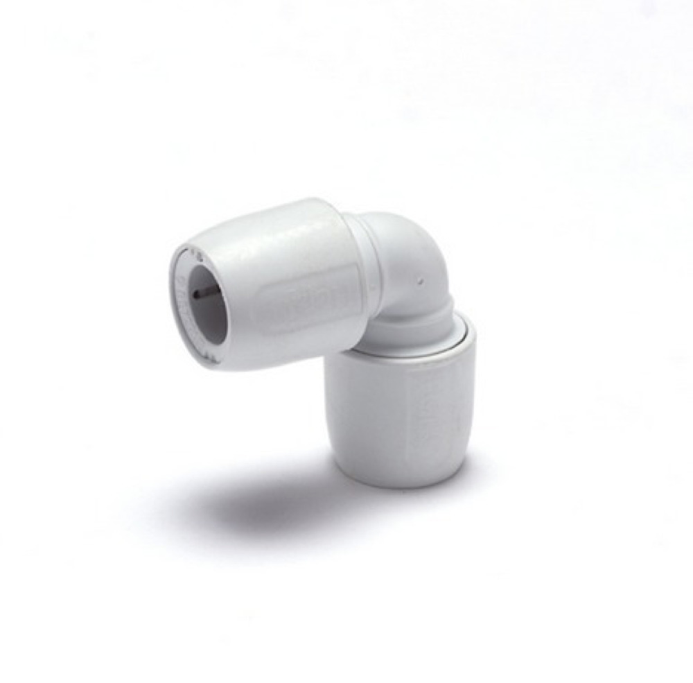 HEP2O Demountable HD5W 22mm Elbow White