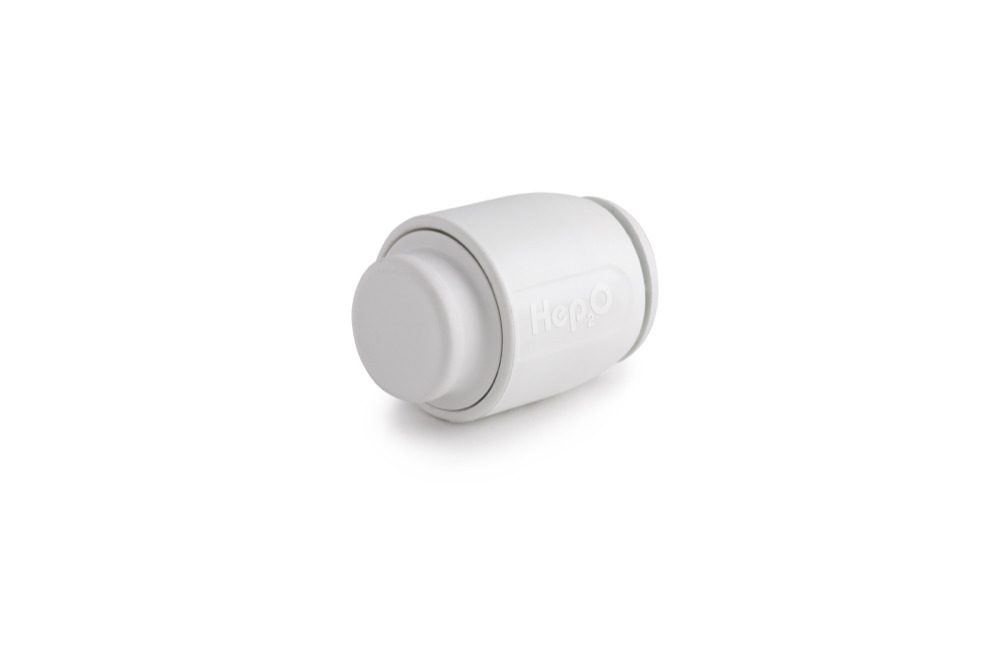 HEP2O Demountable HD62W 28mm Stop End White