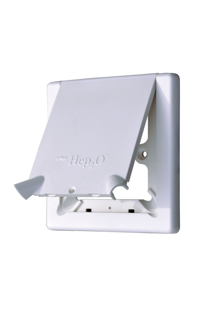 HEP2O HX113 Radiator Outlet Cover Plate Comes With Flap