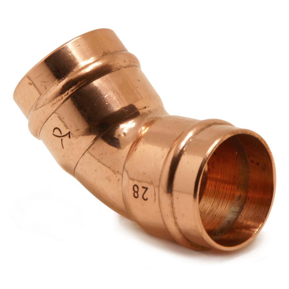 35mm YP21 / TP21 Obtuse Elbow 45DG