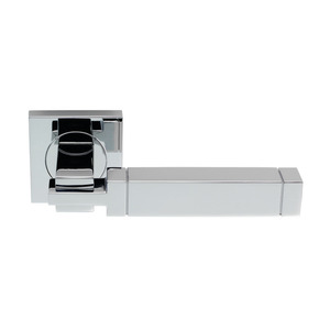 Serozzetta Cube Chrome Plated Door Handle