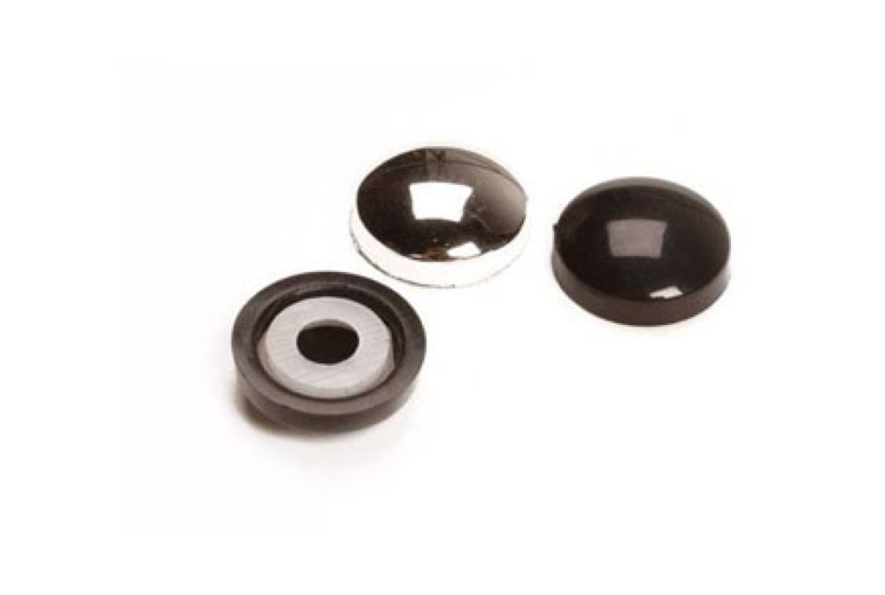 Chrome Plate Plastidome Dome Heads For Screws