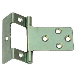 Single Cranked Flush Hinge