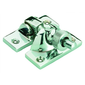 Polished Chrome Brighton Pattern Sash Fastener