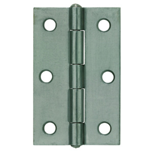 Hinge Self Colour Steel Pair