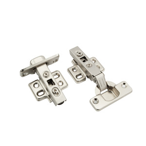 Clip On Hinge Nickel Plated