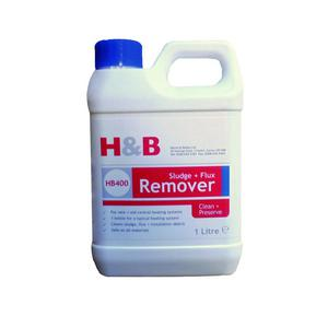 H&B 1ltr Sludge/Flux REMOVER: Old/New Systems