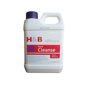 H&B 1ltr Powerflush Rapid Cleanse