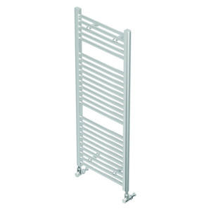 Quinn Towel Rail Crystal Chrome Plate Straight