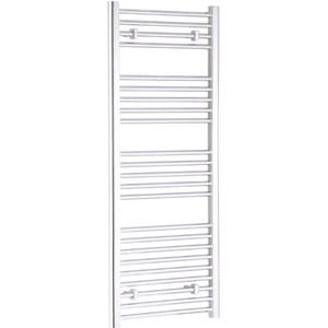 H&B Towel Rail 1200mm X 600mm Chrome Plate Straight