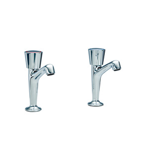 Heatrae Pack R Pair Pillar Taps