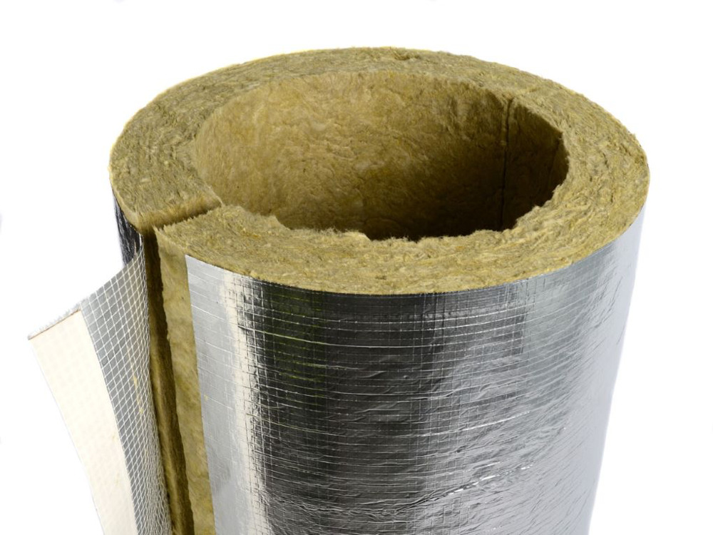 15mm X 25mm Aluminium Foil H&V Lagging 1.2M Length
