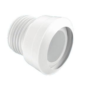 Mcalpine Straight Toilet Pan Connector