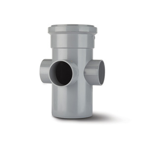 Polypipe SJ454 Grey Boss Pipe 110mm Soil