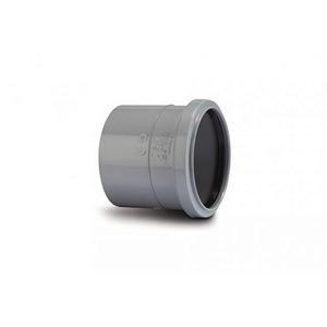 Polypipe SH43 Grey Single Socket 110mm Soil