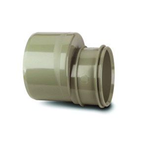 Polypipe SWD96SG Solvent Grey Reducer 110x82mm Soil Int