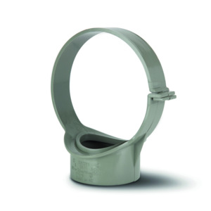Polypipe SG70SG Solvent Grey Strap Boss clip110mm Soil