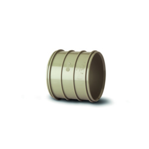 Polypipe SWH16SG Solvent Grey Double Solvent Weld Socket 110mm Soil