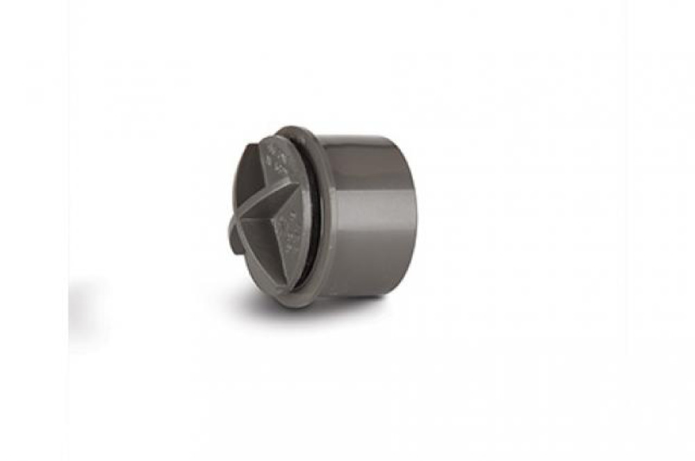 Polypipe WS29G Grey Access Cap 32mm Weld