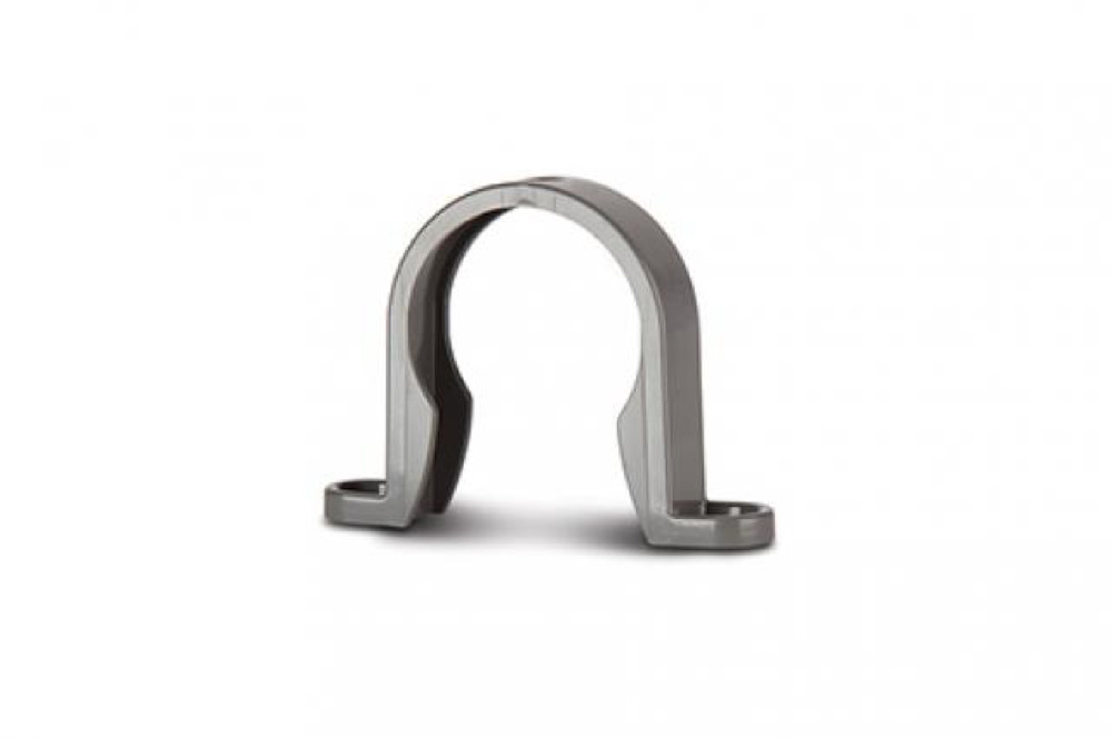 Polypipe WS33G Grey Pipe Bracket 32mm Weld