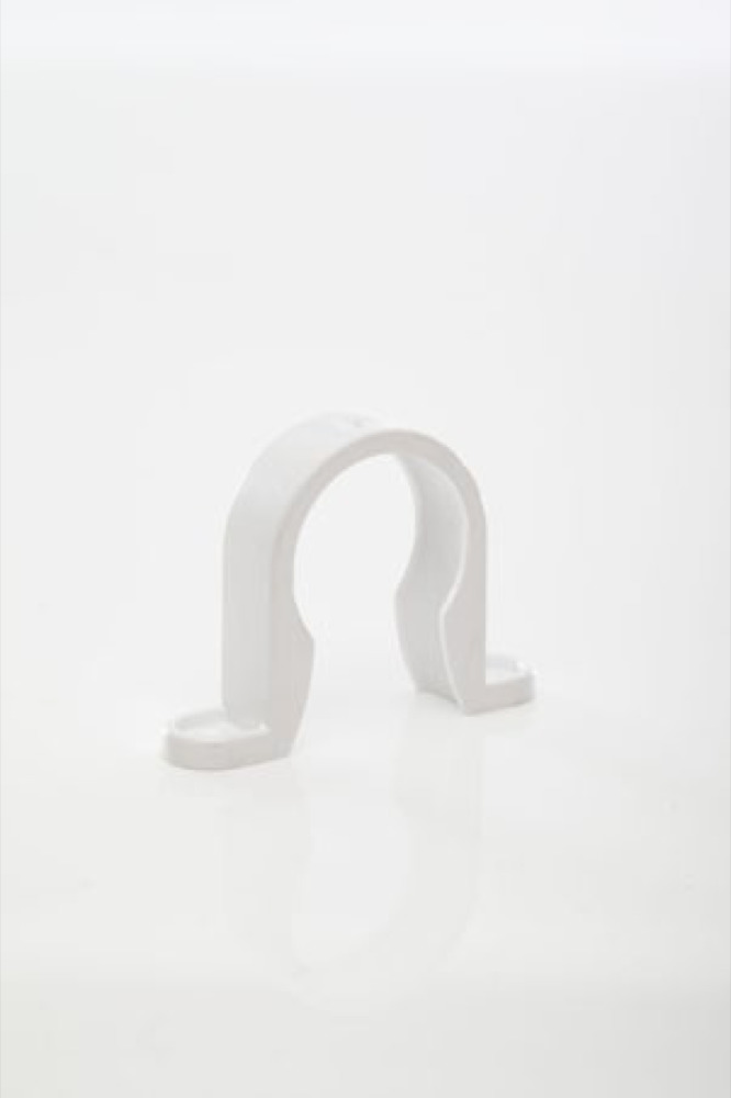 Polypipe WS33W White Pipe Bracket 32mm Weld