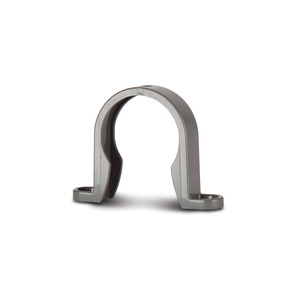 Polypipe WS34G Grey Pipe Bracket 40mm Weld
