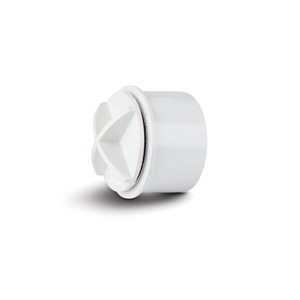 Polypipe WS30W White Access Cap 40mm Weld