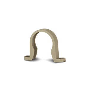 Polypipe WP65 Grey Pipe Bracket 50mm Mupvc