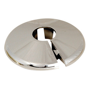 Floor Ceiling Plate 15mm Chrome