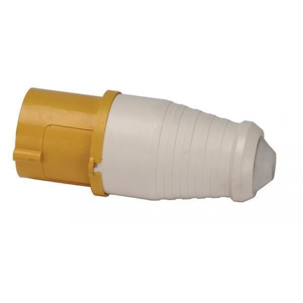 Yellow Plastic Plug