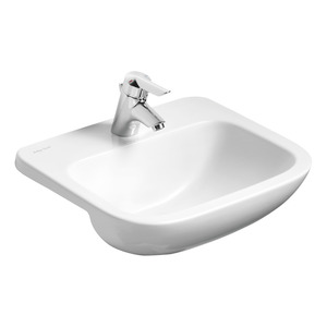 Profile 21 Semi Recessed Basin No Overflow