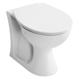 Sandringham 21 E897401 Back TO Wall Pan White