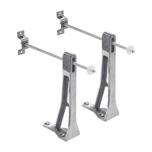 Ideal Wall Hung Pan Brackets Pair