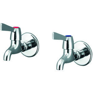 Alterna 21 Quadrant Bib Taps Pair