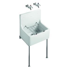 Alder 510X380 Cleaners Sink S590001 White