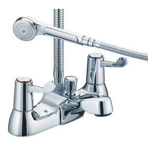 Lever Bath Shower Mixer Valbsmccd Chrome Plate