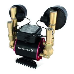 Grundfos Amazon Twin Pump Brass Universal