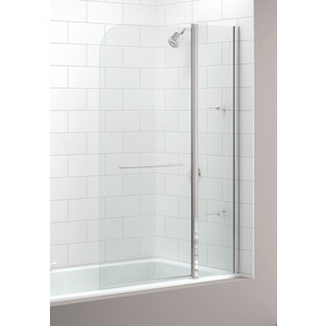 Merlyn 2 Panel Bath Screen Curved
